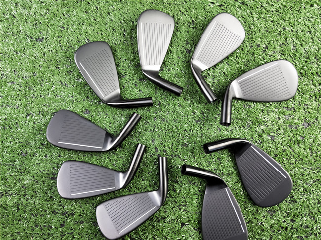 11P GEN2 Iron Set 11P GEN2 Golf Forged Irons Black Golf Clubs 3456789WG 9PCS R S