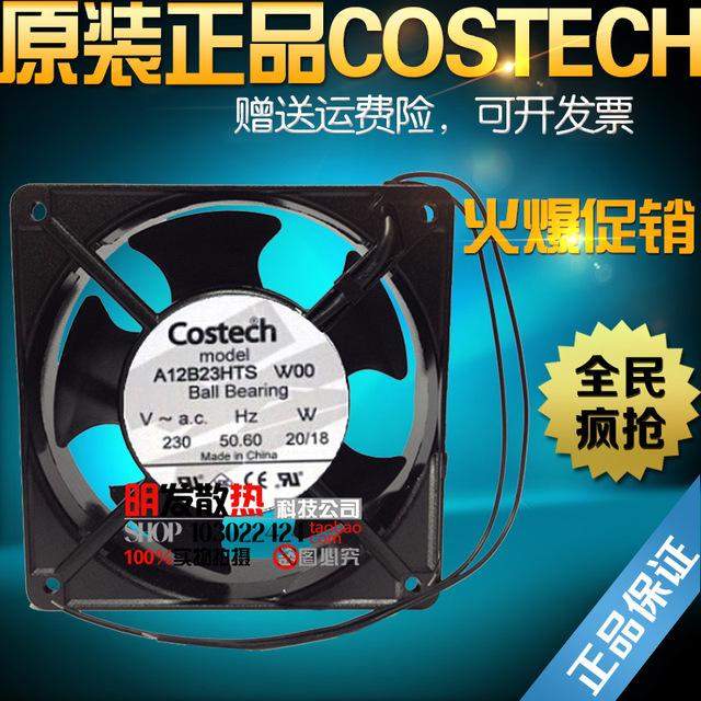 W00 A12B23HTS Original ventilador de refrigeración 230 V 20/18 W 12 cm 12038