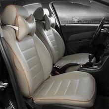 2016 asiento de cuero cubre para BLUEBIRD Sylphy TEANA TIIDA Geniss SUNNY Pathfinder PICKUP CIMA X-TRAIL cefiro Nissan NP300 D22