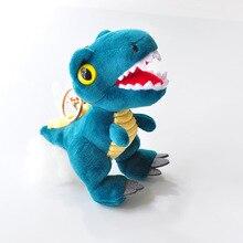 4 шт./лот стиль продажи, как горячие торты брелок плюшевая подвеска в виде динозавра тираннозавра Рекс