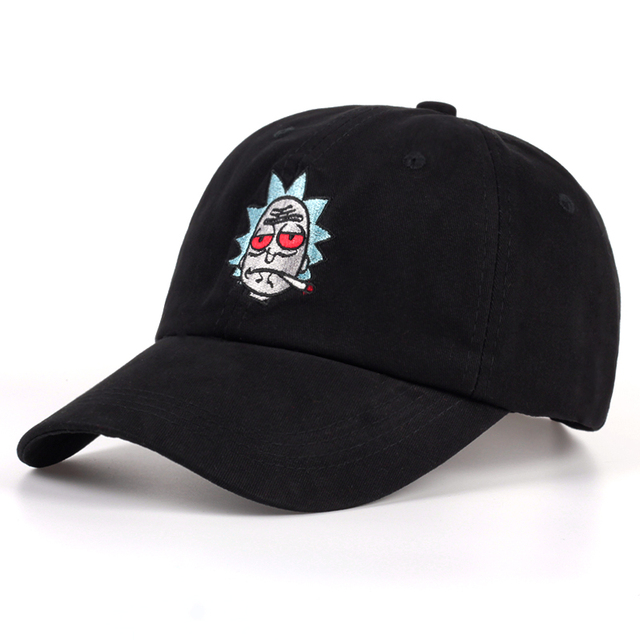 Rick and Morty Hats The New US Animation Rick Caps Dad Hat Adjustable High  Quality Cotton c24e87019ef7