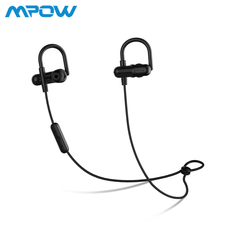 Original MPOW QY11 Headphones earphone Aptx HiFi 3D stereo Bluetooth 4.1 In ear CVC 6.0 chip Noise cancelling sports headphone