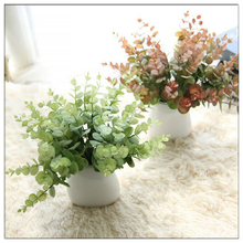 Northyle Real Touch Small Eucalyptus Simulation Flowers  Botany Wall Flowers Fake Grass Artificial Greenery Plants Garden Decor