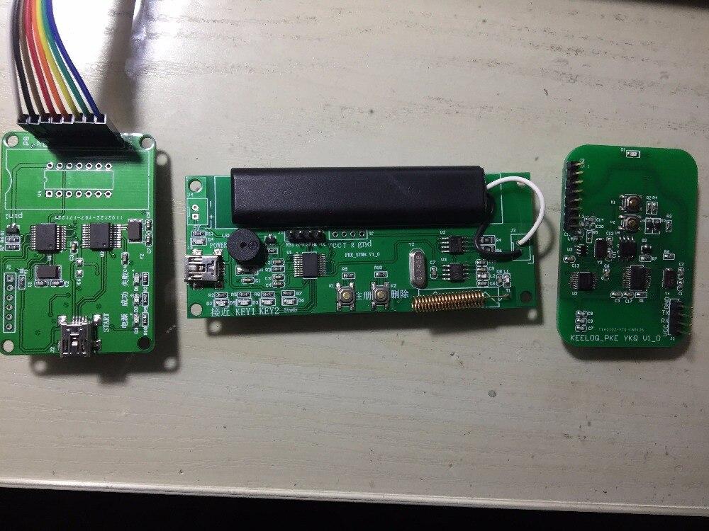 PKE scheda di sviluppo, AS3933 scheda di sviluppo, HCS300 rolling code bordo di sviluppoPKE scheda di sviluppo, AS3933 scheda di sviluppo, HCS300 rolling code bordo di sviluppo
