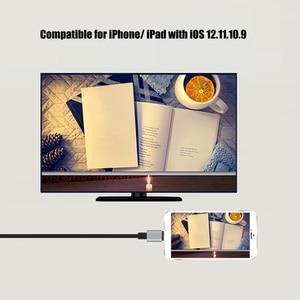 Image 5 - USB HDMI dönüştürücü Yıldırım için HDMI Ayna Kablo Adaptador Apple iPhone için X 8 7 6 S iPad HDMI Dijital AV Adaptörü