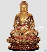Fabbrica diretta resina artigianato ornamenti 86 cm alta statua del Buddha della Medicina Orientale leader mondiale di vetro netto