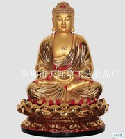 Factory direct resin crafts ornaments 86 cm high statue of the Medicine Buddha Oriental net glass world leader