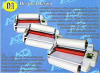 A3 13 width High Speed double side roll Thermal Laminator hot/cold Mounting Roll Laminator Bopp Film