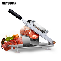 Home Stainless Steel Manual Meat Slicer Commercial Mutton Roll Cutting Machine Electric Meat Grinder