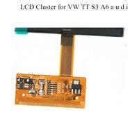 ㅜLCD 디스플레이 화면 AU 디ㅜS3 A6 예거, 폭스 바겐 VDO OEM Jeager LCD 클러스터 디스플레