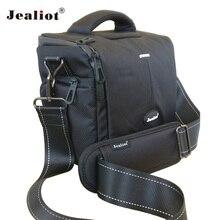 Jealiot Professional SLR Camera Bag Shoulder Bag waterproof digital Camera video foto photo bag lens Case for DSLR Canon 700D 5D