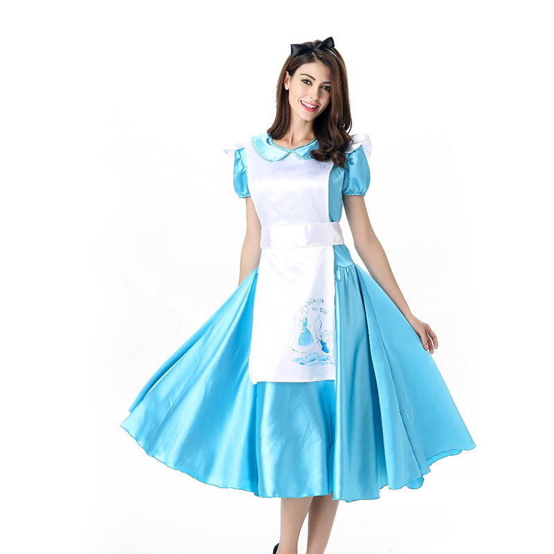 women sexy franch maid costumes womens adult alice in wonderland costume alice halloween costumes cosplay on aliexpresscom alibaba group