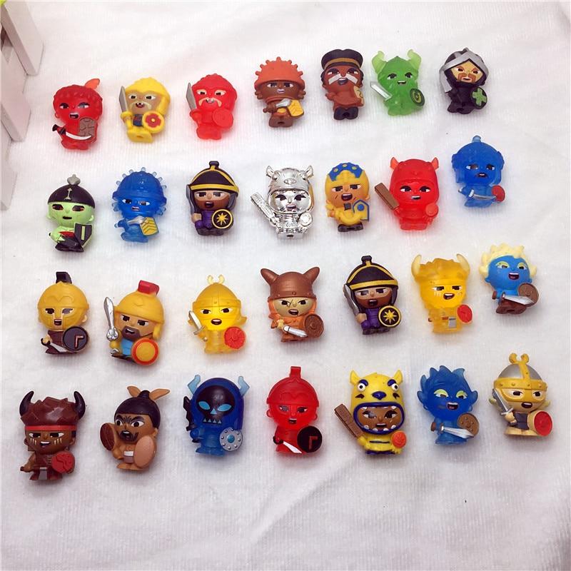 20pcs Lot small mini Plastic font b toys b font for children gift font b toys