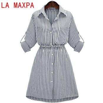 09ec08c517 Ropa para mujeres maix vestido señora manga larga rayas bodycon partido Vestidos  algodón mezclas vestido casual vintage 8550