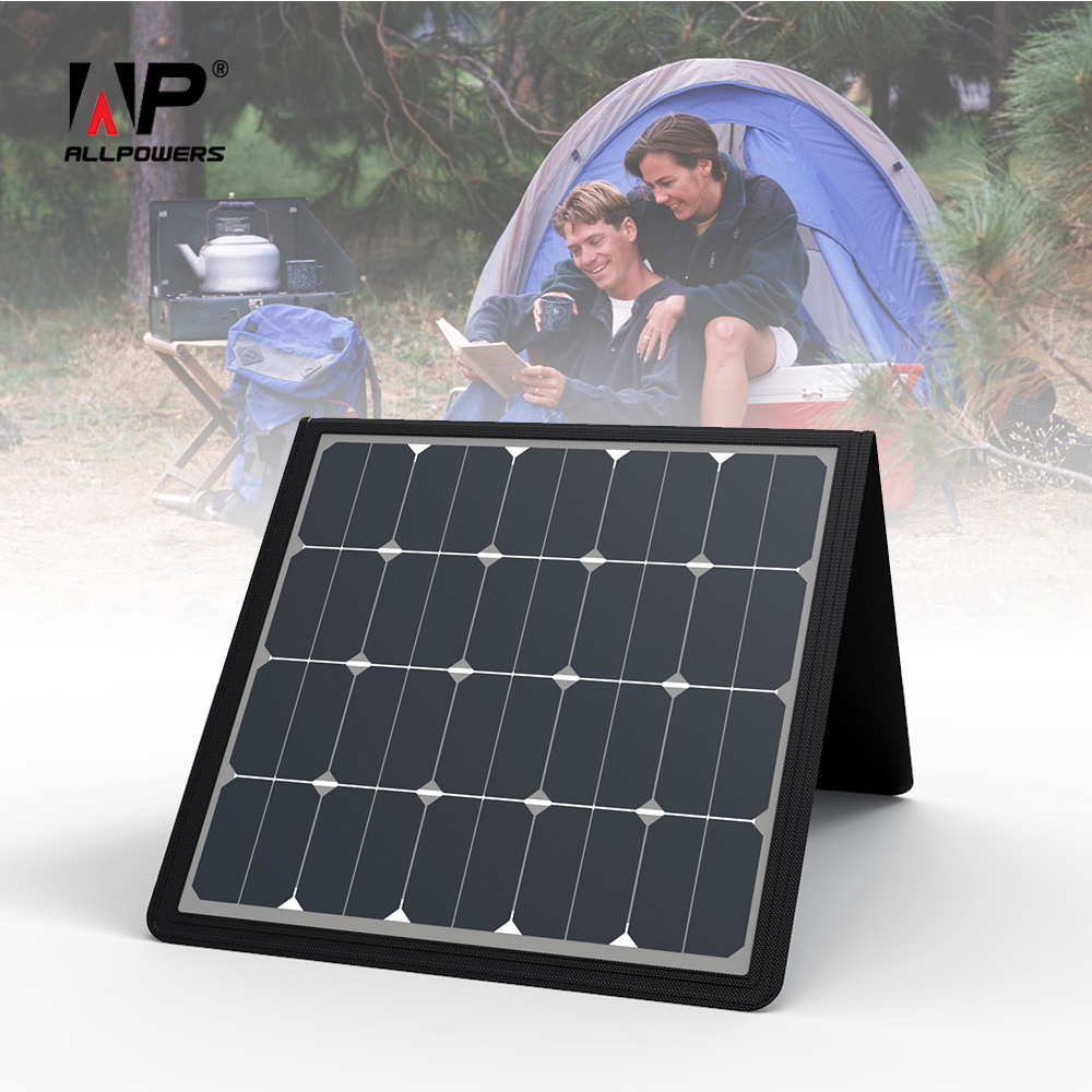ALLPOWERS 5V 18V 100W Solar Panel Charger Solar Phone Charger Solar font b Laptop b font