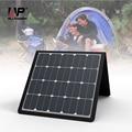 Allpowers 5 v/18 v 100 w del panel solar cargador solar cargador de teléfono cargador solar portátil para acampar escalada senderismo pesca conducción.