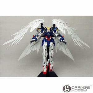 Image 4 - OHS Bandai RG 17 1/144 XXXG 00W0 Wing Gundam Zero EW Mobile Suit Assembly Model Kits  oh