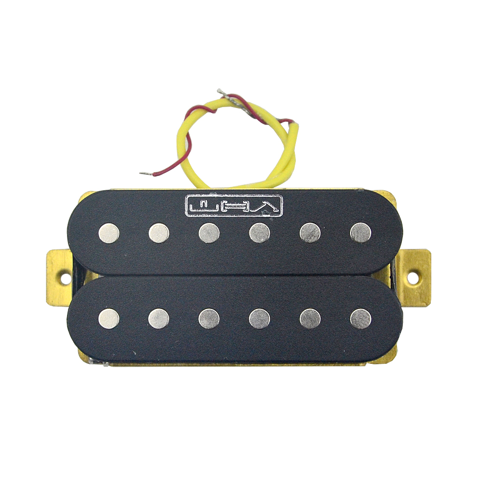 1PCS Double Coil Humbucker Guitar Pickup for Electric Guitar Parts Replacement Black free shipping new electric guitar double coil pickup chb 5 can cut single art 46