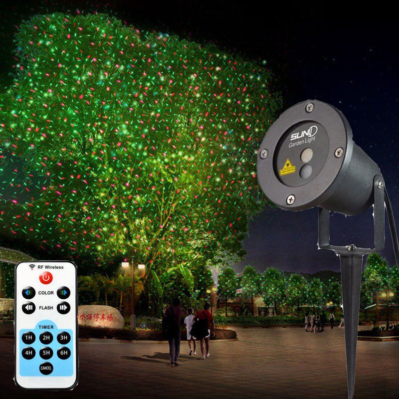 Outdoor Lights Remote Control: Remote Control+RG IP65 Waterproof Latest Elf Laser Light