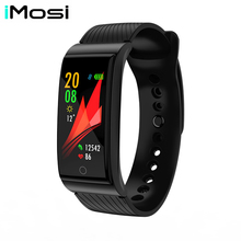 Imosi F4 Metal Smart Band Wristband Blood Pressure Heart Rate Monitor Men Women Fitness Watch Pedometer Bracelet
