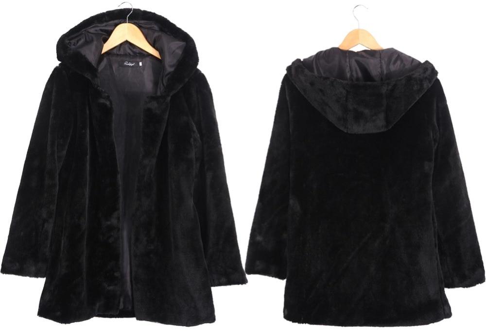 2019 europski prozračni krzneni kaputić zimske žene osnovni kaput - Ženska odjeća - Foto 4
