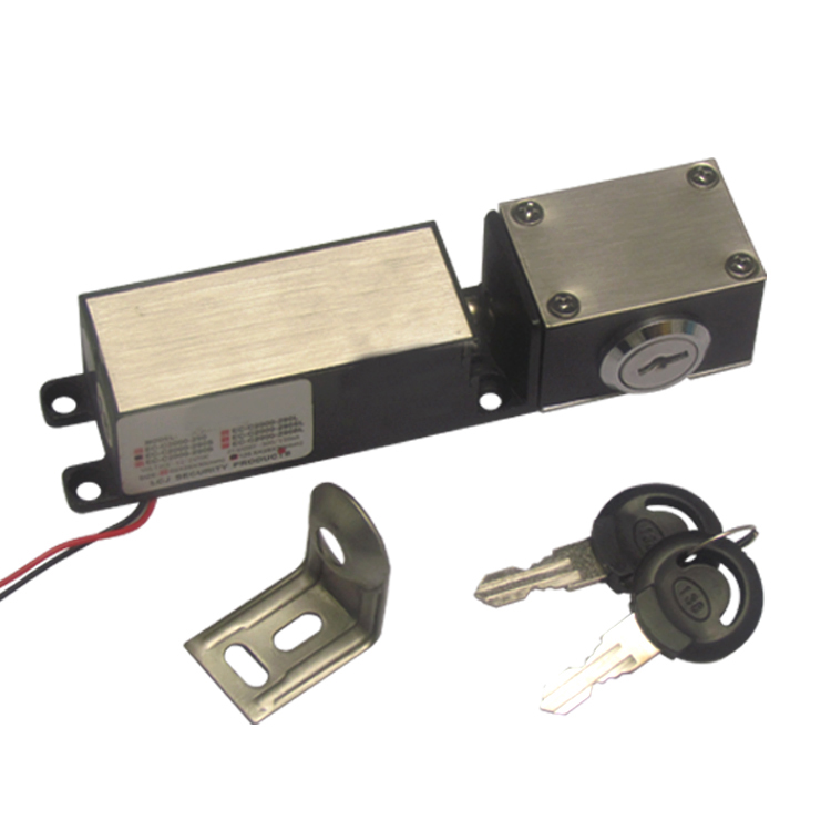 Small Size DC 12V Electric Lock with Key for Cabinet, Drawer, Box etc. 12v mini electric cabinet lock for vending machine storage gun cabinet