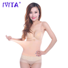 IVITA Cinturón de silicona 100% para mujer, cinturón de cintura con ajuste para el cuerpo, perfecto para el vientre y en forma de cadera
