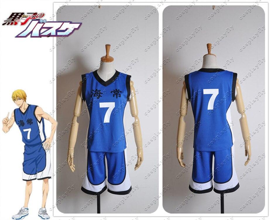 Kuroko no Basuke Kuroko Kise Ryota Cosplay Costume Jersey Outfit Clothing Cosplay Costume C0272 (Number can be changed)