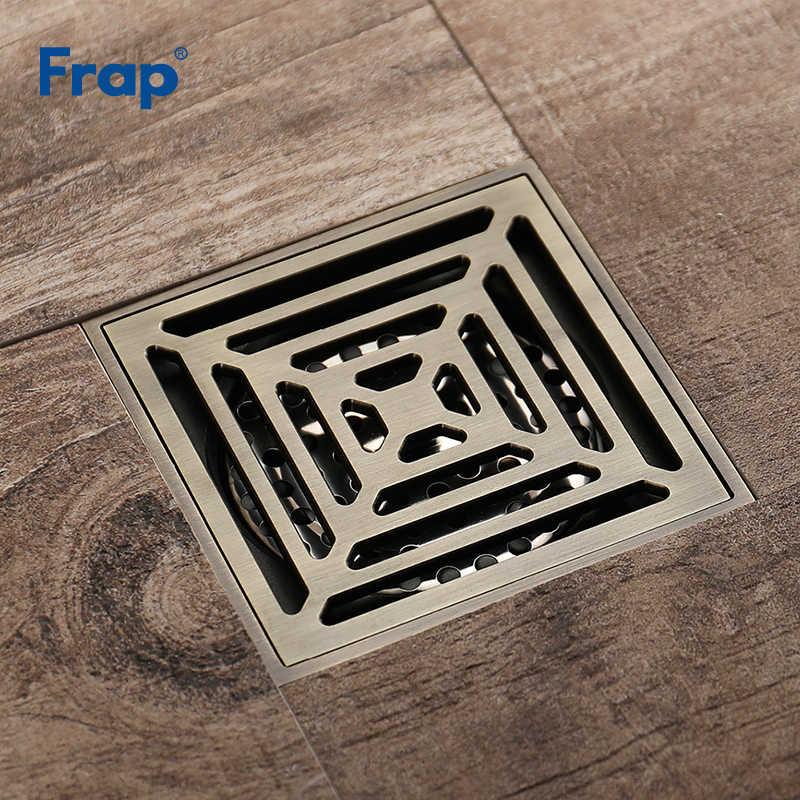Frap 正方形 10*10 センチの浴室の床暖房通常トイレキッチンバルコニー真鍮床排水浴室アクセサリー Y38063
