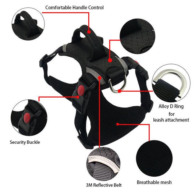 Reflective Dog Harness Vest