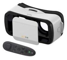 Fone de Ouvido VR Óculos de Realidade Virtual Mini VR Óculos 3D Portátil para Celulares Filme Jogo de Vídeo Virtual Óculos Viseira 3D Olhos