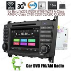 Android4.4 Car DVD Quad Core touch screen radio For B-enz W203 W209 W169 W219 A-Class C-Class Support BT 3G WiFi DTV GPS