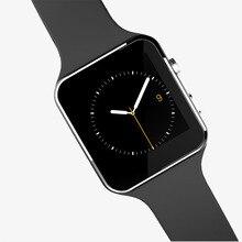 2016 neue Bluetooth Smart Uhr X6 Smartwatch Sport Uhr für Apple IPhone Android-Handy mit Kamera Unterstützung SIM Karte
