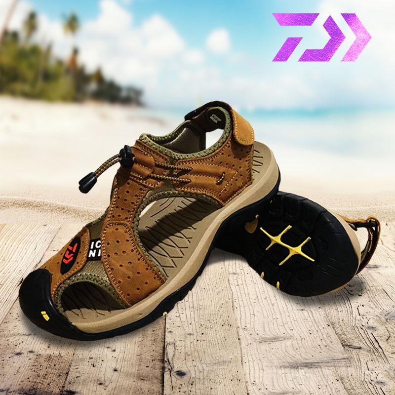 Escalada Ao Ar Livre Caminhadas Sandálias Sandálias sandálias de Couro Respirável