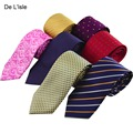 Brand New Premium 8.5cm Handmade Jacquard Necktie Nano Waterproof Business Party Gift Packing
