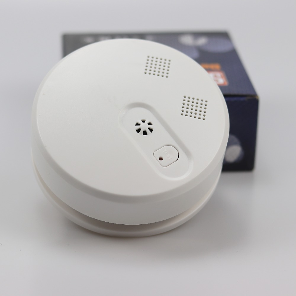 GZGMET Wireless 433MHZ Smoke Detector 85db SMT Design CE High Reliable Home Security Fire Alarm Sensor
