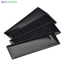 MACGARSEN 1pcs Epoxy Solar Panel 6V 100mA Polycrystalline solar cell 120*38mm Cell Phone Battery Power Photovoltaic