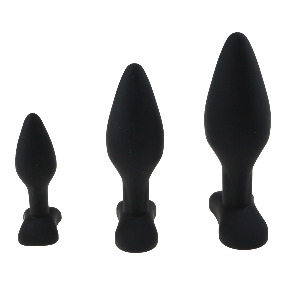 3 Size Anal Plug Silicone Butt Plug Large Huge Anal Bead Sex Toys for Women Anal Plug Unisex Erotic Toys Sex Products for Men 1