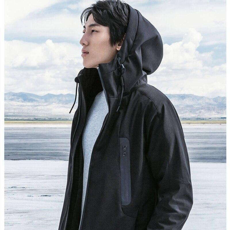 Xiaomi Youpin 90 Points Hot температурный контроль пуховик с зарядкой от 40 до 50 градусов Цельсия - 3