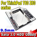 """9.5mm 2nd SATA 3.0 to IDE Case SSD HDD Caddy 2.5"""" Second Hard Disk Driver External Enclosure CD DVD Optical Bay Laptop"""