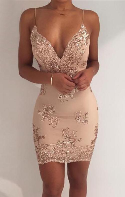 HTB1Roo4PFXXXXa3aXXXq6xXFXXXt - Womens Gold Black Sequin Dress JKP203
