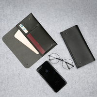Slim Microfiber Leather Phone Case Cover Card Passport Slots For Vernee Mix 2 Ulefone S7 LETV