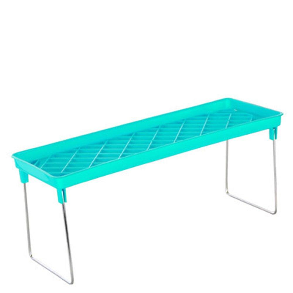 Foldable Multi Use Multilayer Shelf Kitchen Cabinet Storage Stackable Cupboard Rack Organizer Kitchen Bath Sundry Storage Rack