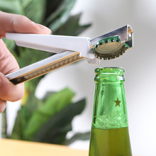 Bottle Wrench Stainless Steel Power-Saved Can Opener Can Multifunctional Kitchen Jar Opener Wrench Free Size Suit Any Cans