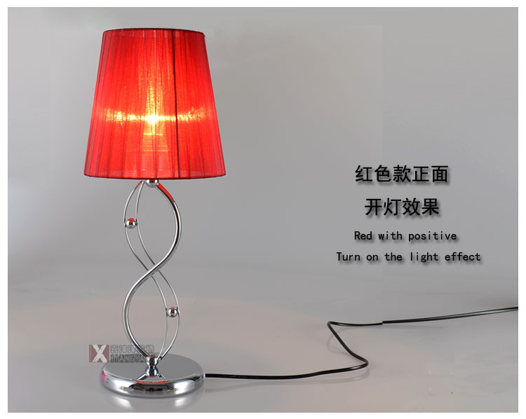 The New Creative Fashion Gift Table Lamp Boutique Bedroom Bedside Eye Lamp Gift Lamps Home Lighting