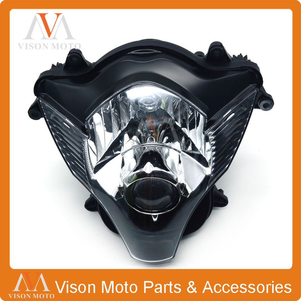 Motorcycle Front Head <font><b>Light</b></font> Headlight Head Lamp Headlamps For SUZUKI GSXR600 GSXR750 <font><b>GSXR</b></font> <font><b>600</b></font> 750 GSX750R GSX600R GSX 2006 2007 image