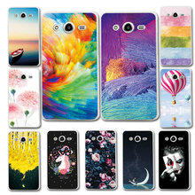 Novelty Soft TPU Printed Case For Samsung Core2 SM-G355H Silicone Back Phone Capa Cover For Galaxy Core 2 SM-G355H Case Fundas(China)