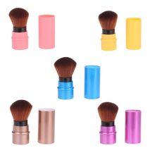 New Makeup Retractable Powder Brush Portable Face Blush Brus