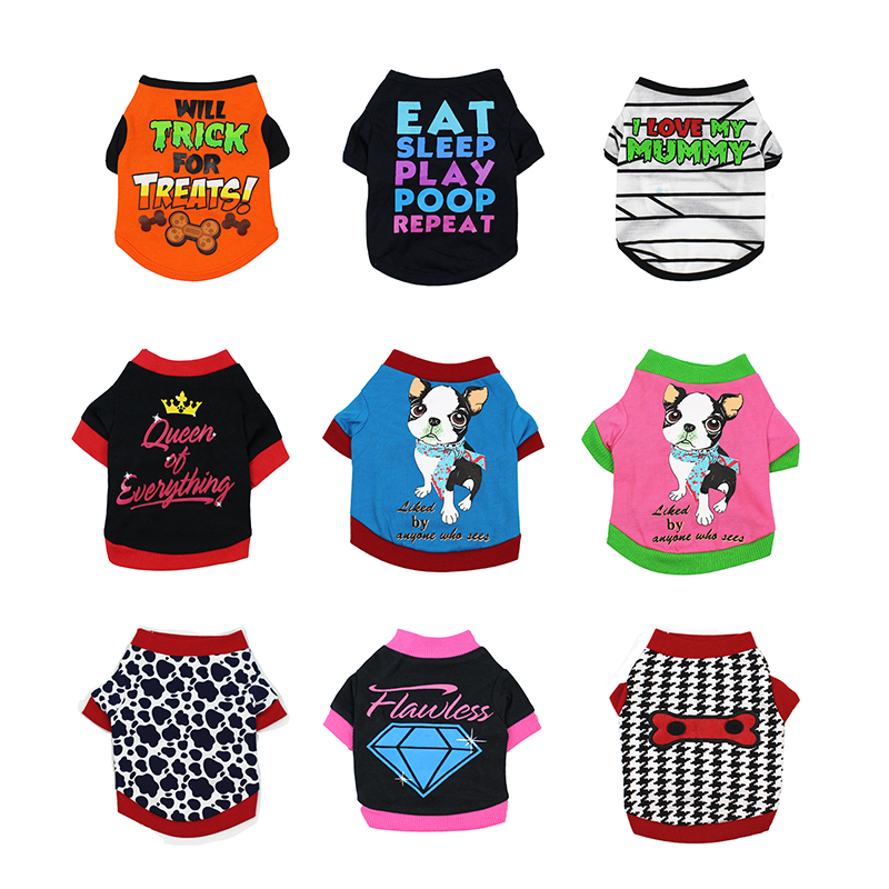 8cafb2b034e4 12 Style Pet Cat Costume Small Dog Cat Clothes Cute Puppy Cat Kitten T-shirt  Summer Vest Shirt Apparel for Spring and Summer