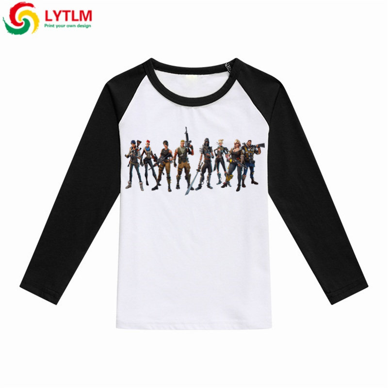f8010c849 LYTLM Autumn 2018 Boys T shirt Kids Long Sleeve Marshmello T Shirts ...